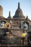 Estátuas da Buda no templo Bali do budhist de Banjar Imagens de Stock Royalty Free