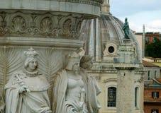 Estátuas da decoração do altar da pátria Fotos de Stock