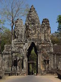 Estátuas da face de Buddha em Bayong Foto de Stock