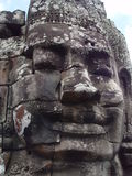 Estátuas da face de Buddha em Bayong Imagem de Stock