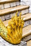 Estátuas da serpente. Foto de Stock