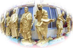Estátuas das Budas Foto de Stock Royalty Free