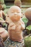 Estátuas das monges Imagem de Stock