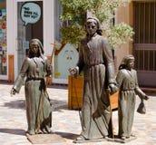 Estátuas de bronze das jovens mulheres Fotos de Stock Royalty Free
