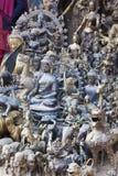 Estátuas de bronze e de cobre nepalesas Imagem de Stock