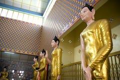 Estátuas de Buddha imagem de stock