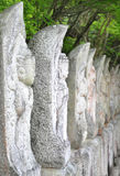 Estátuas de Buddha em Japão imagem de stock