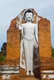 Estátuas de Buddha no templo Imagens de Stock Royalty Free