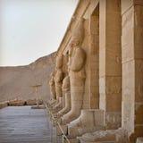 Estátuas de Hatshepsut Fotografia de Stock