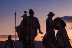 Estátuas de Ketchikan imagens de stock