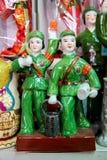 Estátuas de Mao no Pequim, China fotografia de stock