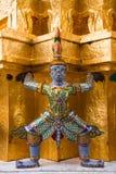 Estátuas de Royal Palace em Bankok Imagem de Stock