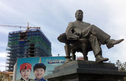 Estátuas de Ulaanbaatar foto de stock
