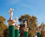 Estátuas de um anjo fotos de stock royalty free