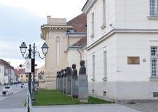 Estátuas do busto Imagem de Stock