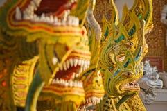 Estátuas do dragão Fotografia de Stock Royalty Free