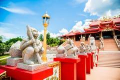 Estátuas do macaco Fotografia de Stock