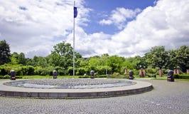 Estátuas do parque de Herastrau, Bucareste Imagens de Stock