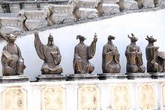 Estátuas do zodíaco Imagens de Stock Royalty Free