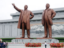 Estátuas dos líderes imagem de stock royalty free