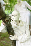 Estátuas durante o festival internacional de estátuas vivas Imagens de Stock Royalty Free