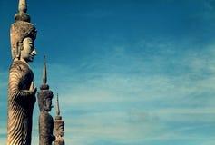 Estátuas em Tailândia foto de stock