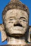 Estátuas enormes no parque da escultura - Nong Khai, Tailândia imagens de stock royalty free