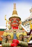 Estátuas gigantes, Banguecoque, Tailândia. Fotografia de Stock Royalty Free