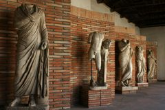 estátuas Grego-romanas, Albânia Imagem de Stock