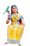 Estátuas hindu do deus em um templo hindu no isolado fotos de stock royalty free