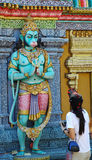 Estátuas indianas do templo Imagens de Stock
