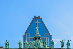 Estátuas na Catedral-basílica de Mary Foto de Stock Royalty Free