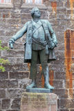 Estátuas no Burg Hohenzollern do castelo de Hohenzollern Fotografia de Stock