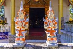 Estátuas pequenas da Buda Fotografia de Stock Royalty Free