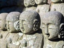 Estátuas pequenas de buddha da monge Imagens de Stock Royalty Free