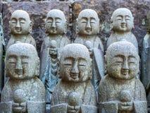 Estátuas pequenas de buddha da monge Foto de Stock Royalty Free