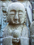 Estátuas pequenas de buddha da monge Fotos de Stock