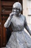 Estátuas vivas de Beeldje os campeões mundiais de estátuas vivas Fotografia de Stock Royalty Free