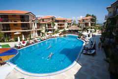 Estância balnear em Bulgária Fotos de Stock Royalty Free