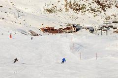 Estância de esqui Fotos de Stock