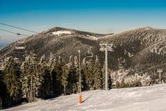 Estância de esqui imagem de stock royalty free