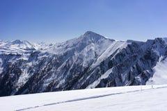 Estância de esqui alpina Serfaus Fiss Ladis em Áustria Imagens de Stock