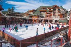 Estância de esqui de Tahoe Fotos de Stock Royalty Free