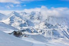 Estância de esqui Hochgurgl Áustria da montanha Fotografia de Stock