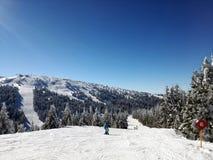 Estância de esqui Kopaonik, Sérvia fotos de stock