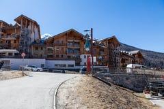 Estância de esqui Les Orres, Hautes-Alpes, França Foto de Stock