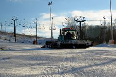 Estância de esqui de Yakhroma Foto de Stock Royalty Free