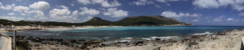 Estância de Verão em Mallorca imagens de stock