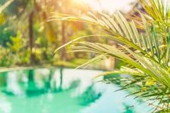 Estância de verão luxuosa Imagens de Stock Royalty Free