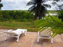Estância de Verão tropical Imagens de Stock